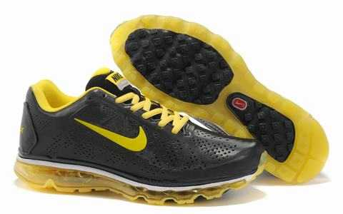 chaussures de sport e6364 90cb7 air max bw noir et jaune fluo,nike air max femme