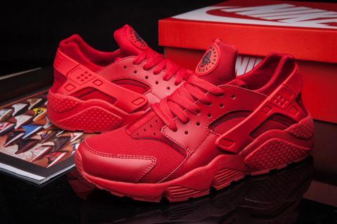 Nike Huarache Montant Rouge